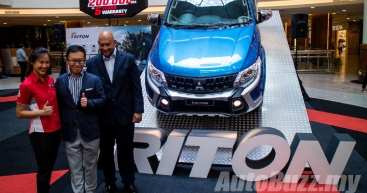 Mitsubishi Triton updated, adds ESC and 7 Airbags, priced from RM77k - AutoBuzz.my